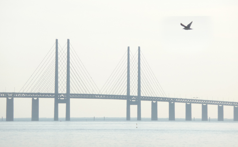 Bild på Öresundsbron